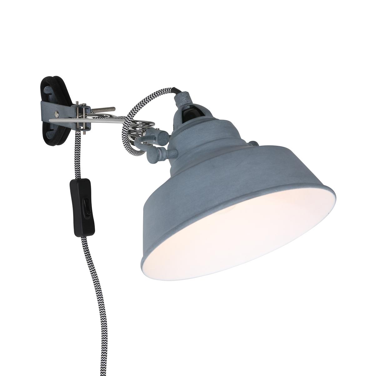 Tischleuchte Steinhauer Mexlite 7655W Vintage Schreibtischlampe Industrie-Design